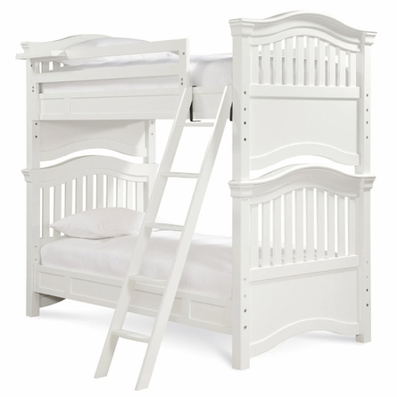 Classic Summer White Bunk Bed