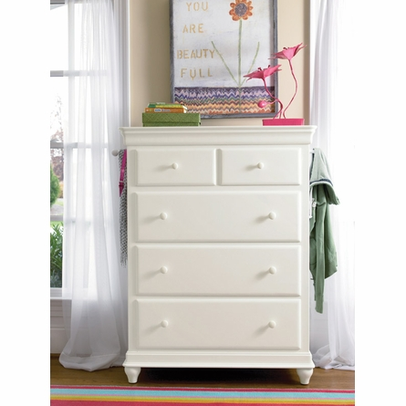 Classic Summer White Drawer Chest