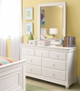 Classic Summer White Drawer Dresser