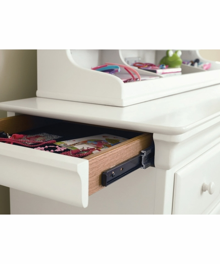 Classic Summer White Dressing Chest