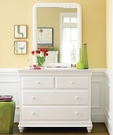 Classic Summer White Single Dresser