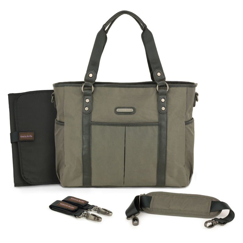 classic tote diaper bag london by timi leslie. Black Bedroom Furniture Sets. Home Design Ideas