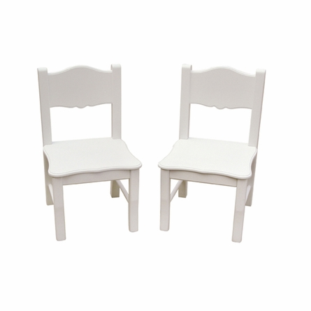 Classic White Table and Chair Set