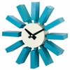 Classic Wooden Block Wall Clock