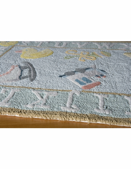 Classics Baby Blue Playtime Rug