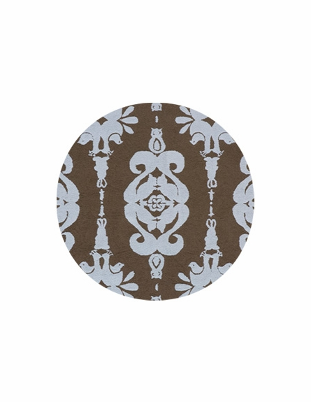 Classics Blue Forest Damask Rug