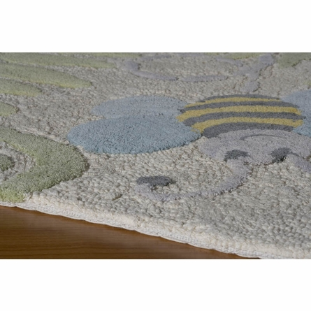 Classics Friendly Bugs Round Rug