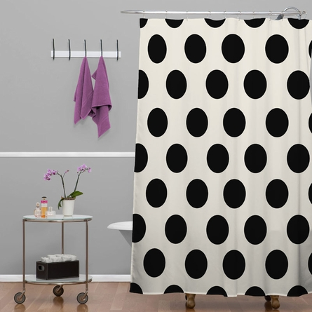 Classiest Cream Shower Curtain