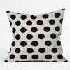 Classiest Cream Throw Pillow