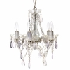 Clear Gypsy Mini Chandelier