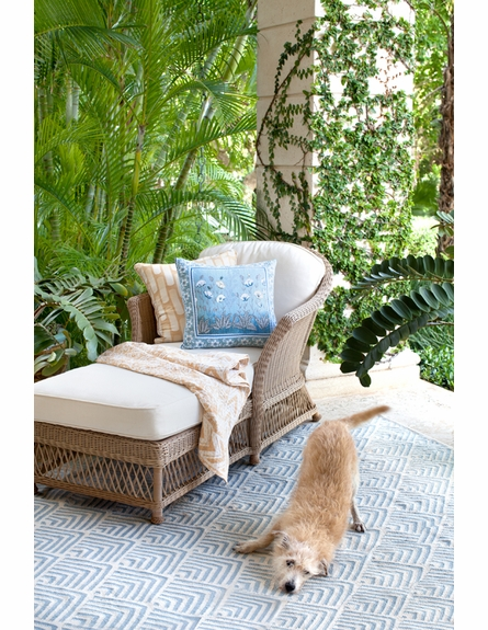 Cleo Indoor/Outdoor Rug in Blue