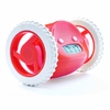 Clocky Rolling Alarm Clock in Red