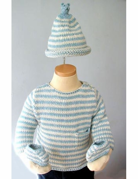 Cloud Knit Doll