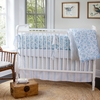 Cloud Majestic 3-Piece Crib Bedding Set