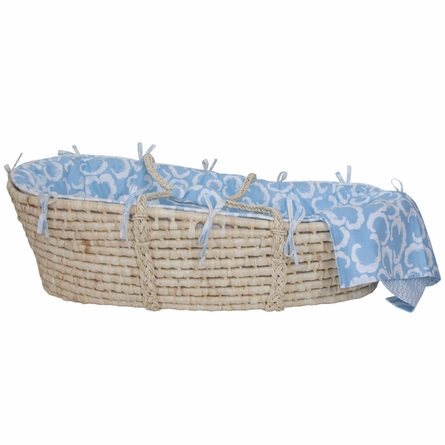 Cloud Majestic Moses Basket