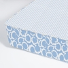 Cloud Majestic Perfect Fit Crib Sheet