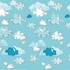 Cloudy Skies Removable Wallpaper