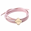 Clover Amazon Bracelet in Gold Plated