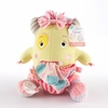 Clover the Closet Monster Knit Baby Socks and Plush Monster Gift Set