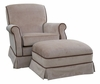 Club Rocker Glider - Classic Brown Velvet