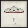 Clubs Umbrella Framed Wall Art