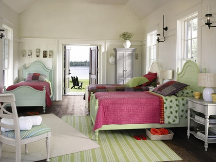 Coastal Living Bungalow Bed