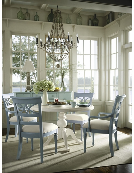 Coastal Living Small Round Pedestal Table