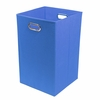 Cobalt Blue Canvas Laundry Bin