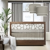 Cobblestone Three-Piece Crib Set in Taupe