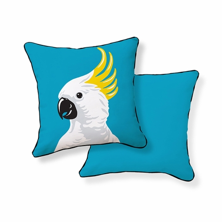 Cockatoo Throw Pillow