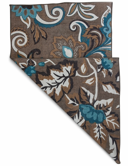 Coffee Firenze Reversible Rug