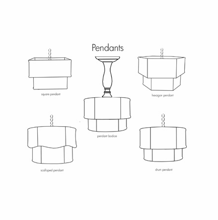 Cole Double Drum Pendant Chandelier