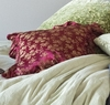 Colette Floral Square Throw Pillow
