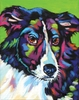 Collie Dog Wall Art