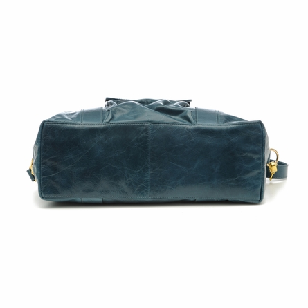 Collins Diaper Bag in Pacific Blue