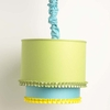 Colorblock Double Pendent Light With Chaincover