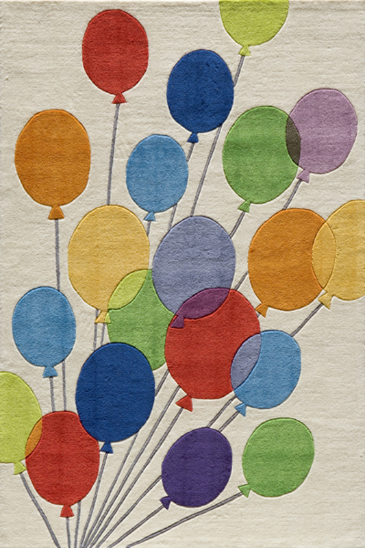 Colorful Balloons Rug Rosenberryrooms Com