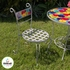 Colorful Bistro Table and Chair Set