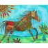 Colorful Pony Ride Canvas Wall Art