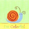 Colorful Snail Canvas Reproduction