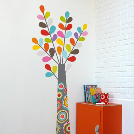 Colorful Tree Wall Decal
