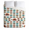 Colorful Turtles Duvet Cover