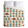 Colorful Turtles Lightweight Duvet Cover
