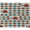 Colorful Turtles Fleece Throw Blanket