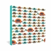 Colorful Turtles Wrapped Canvas Art