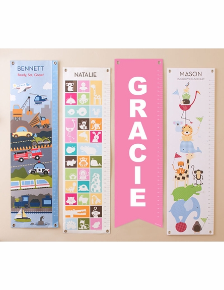 Colorful Words Growth Chart
