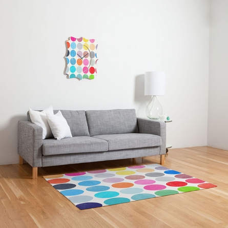 Colorplay 9 Flat Weave Rug