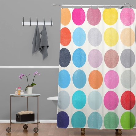 Colorplay 9 Shower Curtain