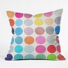 Colorplay 9 Throw Pillow