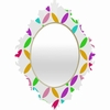 Colour Block Baroque Mirror